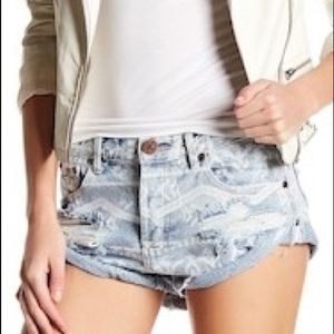 One Teaspoon | Aztec Bandit Cutoff Shorts